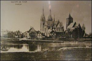 Cuijk Twee kerken in 1905