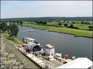Cuijk uitzicht over de Maas (Foto: Ben Hendriks)
