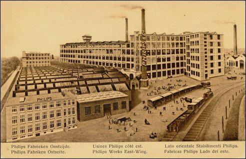 Philipsfabrieken in Eindhoven