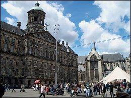 Koninklijk Paleis en de Nieuwe Kerk
