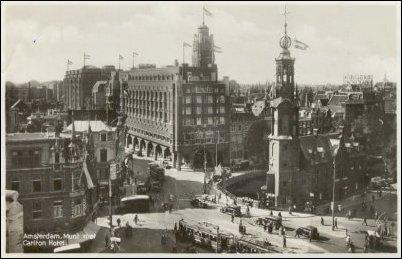 De Munttoren voor de Tweede Wereldoorlog