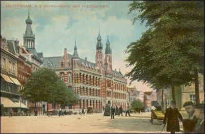 postkantoor op de Nieuwezijds Voorburgwal
