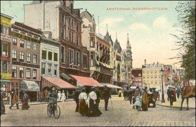Rembrandtplein begin twintigste eeuw
