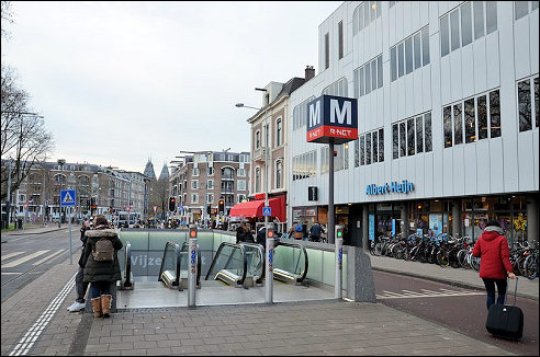 Vijzelgracht in Amsterdam