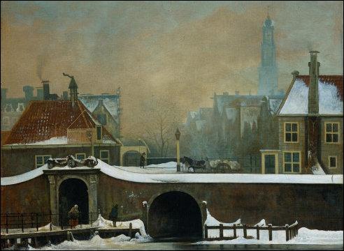 Raampoortje in Amsterdam