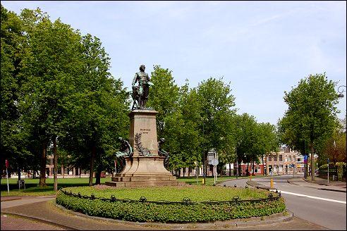 Standbeeld Frans Hals in Haarlem
