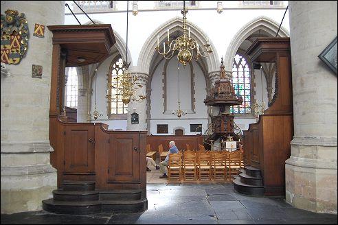 Grote of Sint-Bavokerk in Haarlem