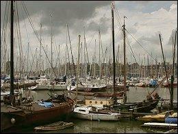 De jachthaven van Hoorn