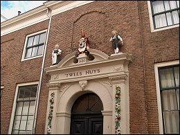 Fraaie gevel in Hoorn
