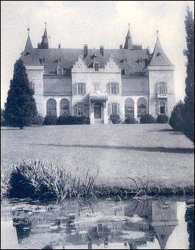 Kasteel van Ciergnon begin twintigste eeuw