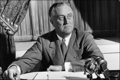 Franklin D Roosevelt 1882 1945 Amerikaanse President