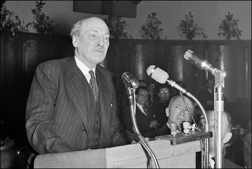 Clement R. Attlee in Leiden