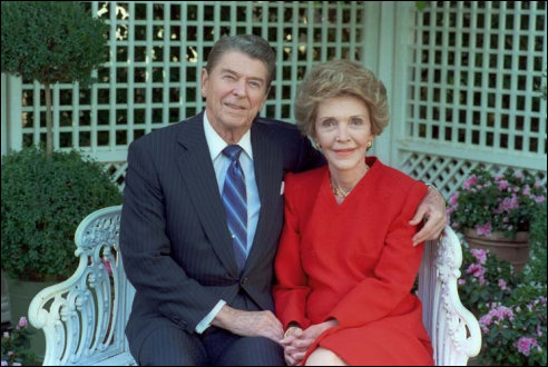 Ronald en Nancy Reagan