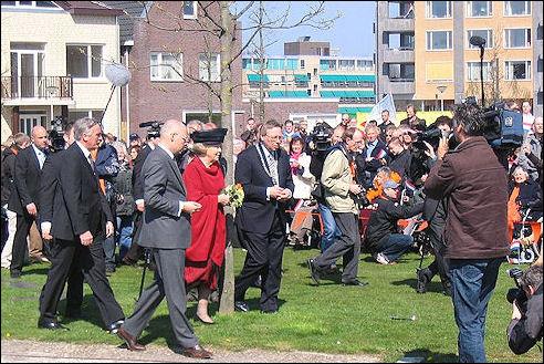 Koningin Beatrix in Enschede