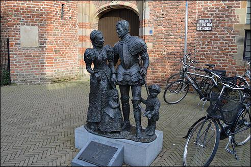 Willem van Oranje en Anna van Egmont in Buren