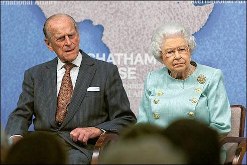 Prins Philip, de hertog van Edinburgh