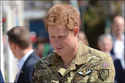 Prins Harry in 2013