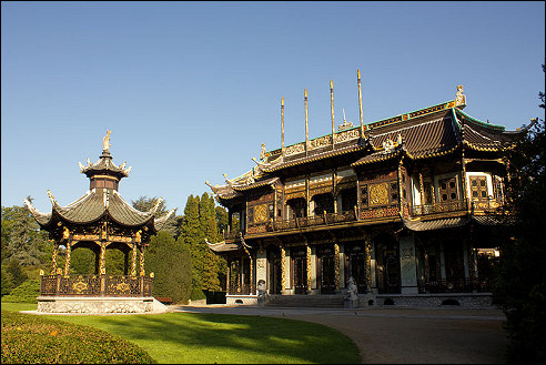 Chinees Paviljoen in Laken