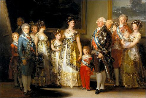 Francisco Goya: De familie van Karel IV