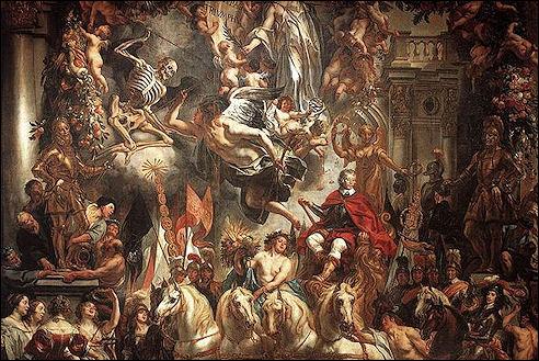Jacob Jordaens: De triomf van Frederik Hendrik