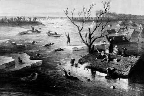 Jan Weissenbruch Watersnood 1855
