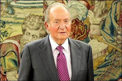 Juan Carlos van Spanje