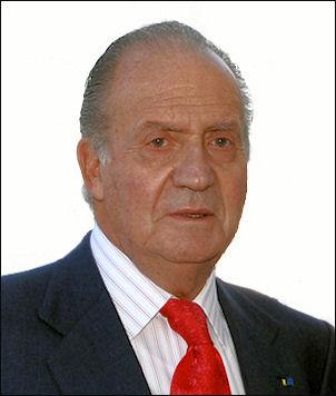 Koning Juan Carlos van Bourbon