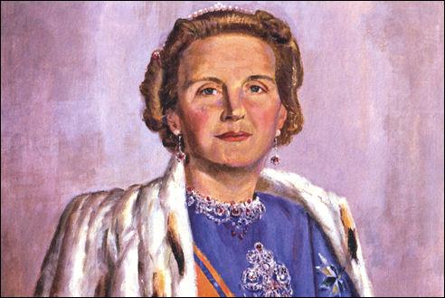 Juliana door J. Altink in 1950