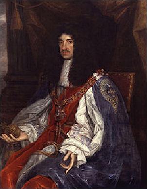 Koning Karel II van Engeland