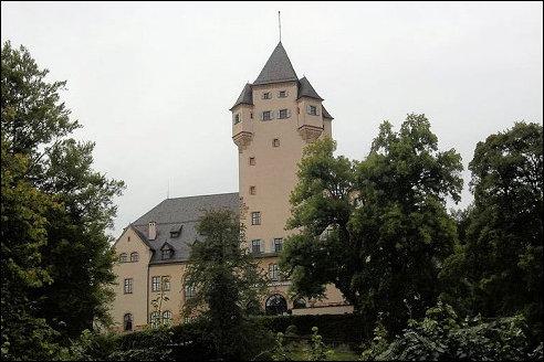 Kasteel Berg in Luxemburg