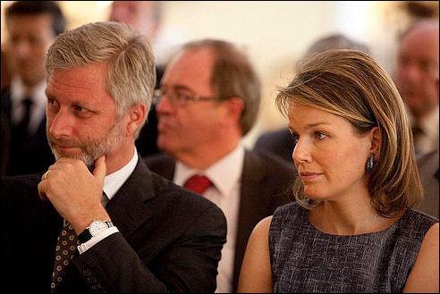 Filip en Mathilde op 20 mei 2010