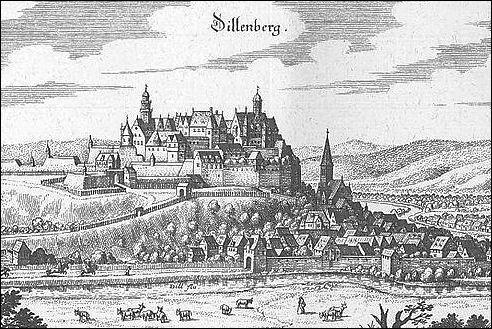 Slot Dillenburg in 1655