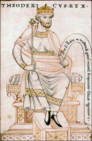 Koning Theoderik de Grote