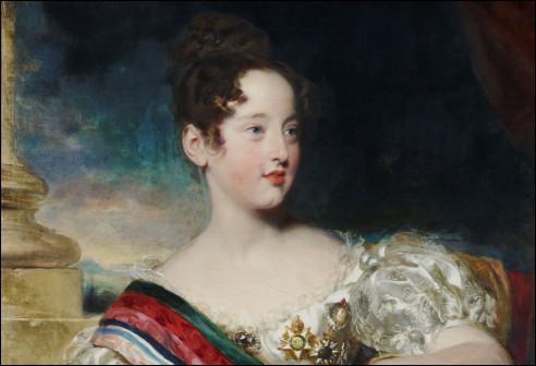 Koningin Maria II van Portugal
