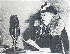 Koningin Wilhelmina in Londen