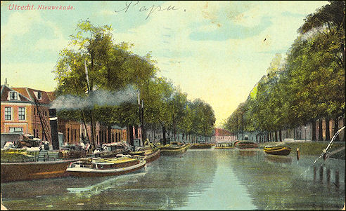 Nieuwekade in Utrecht