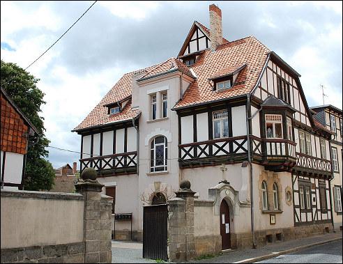 praktijk van Dorothea Erxleben in Quedlinburg