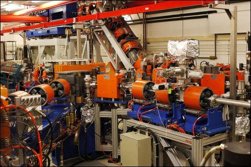 Vrije elektronenlaser FELIX