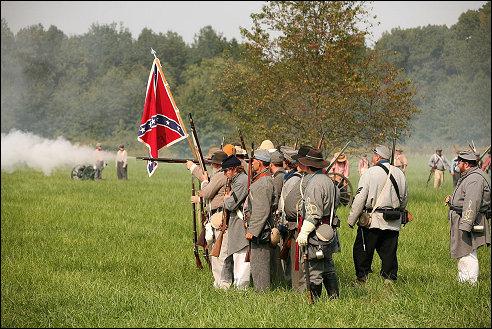 Reenactment Civil War