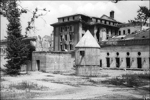 Führerbunker in Berlijn