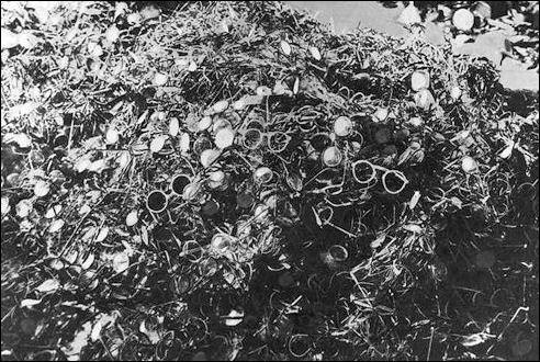 Brillen in Auschwitz