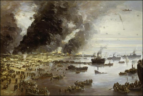 Evacuatie uit Duinkerken