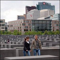 Holocaustmonument Berlijn (foto: Ruud van Capelleveen)