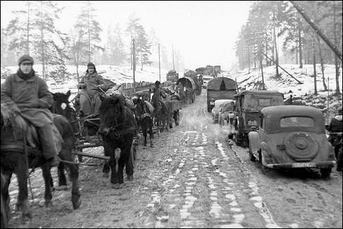 Terugtocht van de Duitse troepen