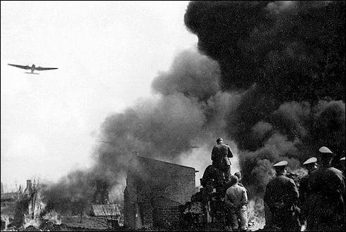 Duitse aanval op Warschau