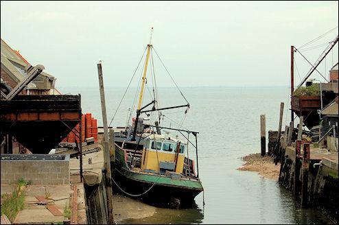 Vissersboot Yerseke