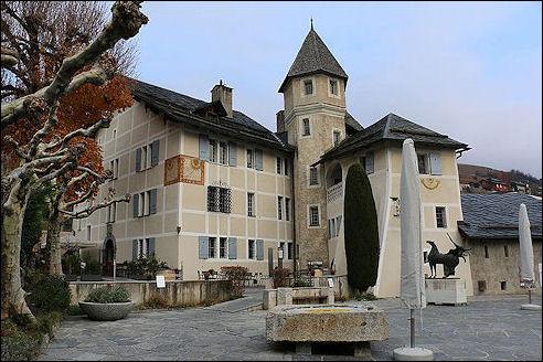 Château de Villa in Sierre