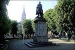 Standbeeld Simon Stevin in Brugge