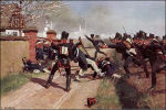Slag bij Lützen in 1813