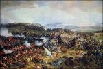 Franse cavalerie in Waterloo